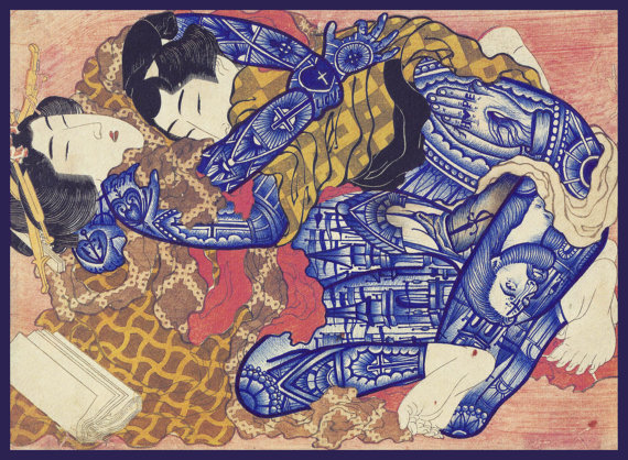 hokusai-love-ramon-maiden