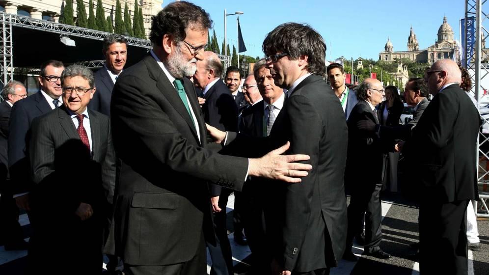 Rajoy & Puigdemont