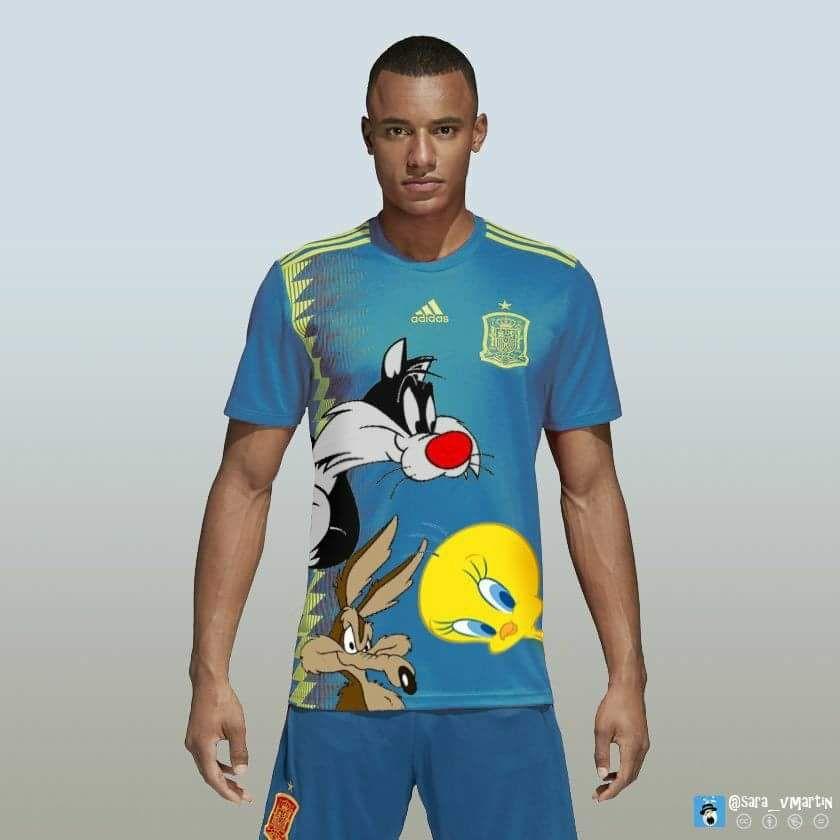alternatief shirt Spaanse ploeg
