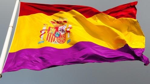 vlag van de tweede spaanse republiek