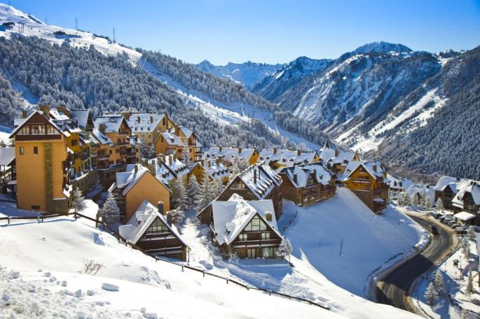 Baqueira-Beret skistation