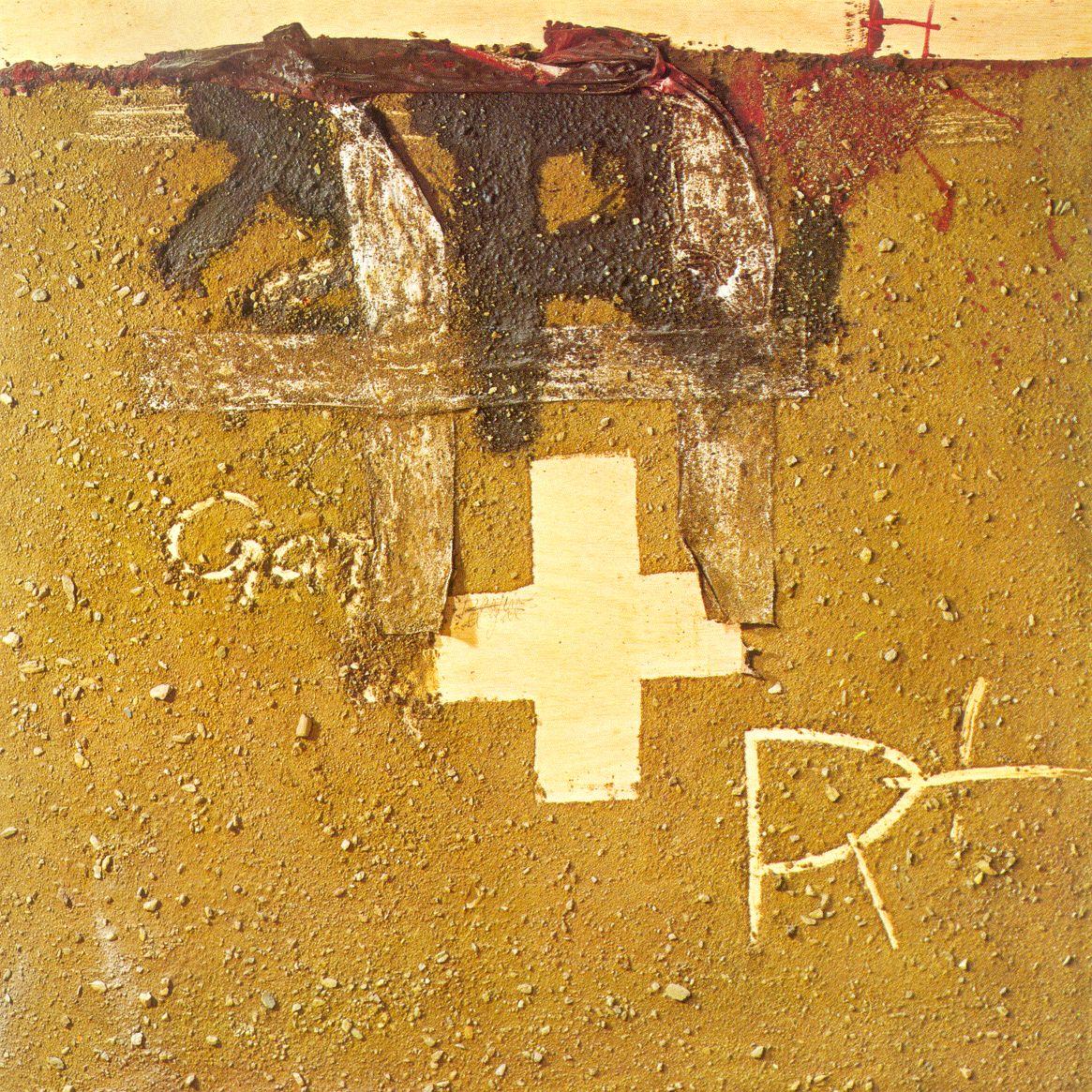 tapies kruis en aarde