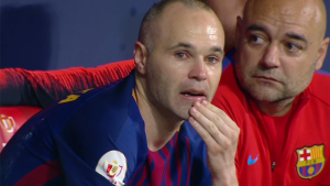 emotionele Andres Iniesta Barça