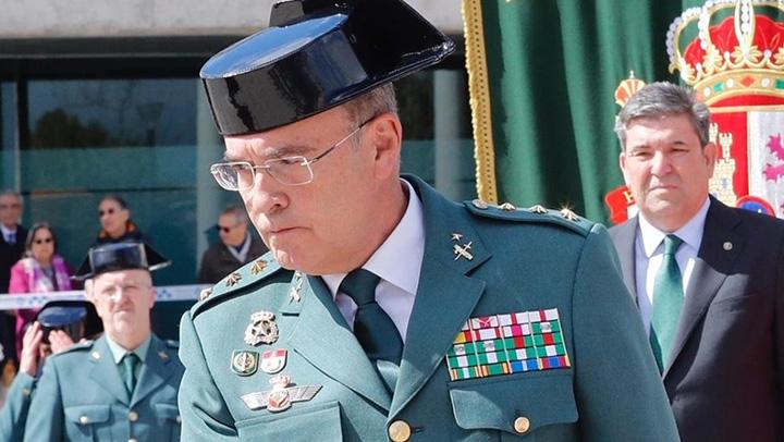 Kolonel Diego Pérez de los Cobos Guardia Civil